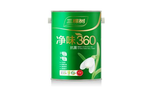 净味360抗菌墙面漆